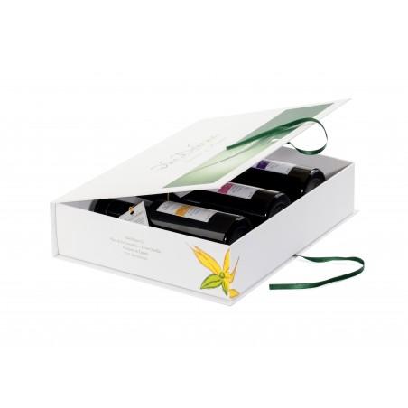Coffret 3 huiles d'olive aromatisées Mer