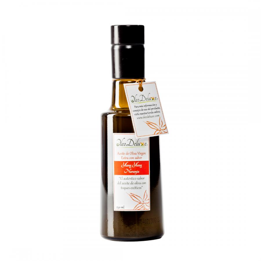 Huile aromatisée saveur Ylang Ylang et Orange