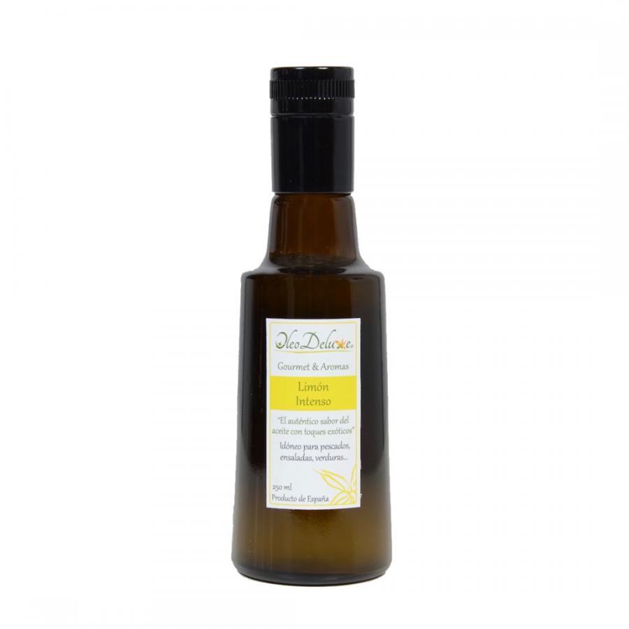 Huile d'olive au citron intense