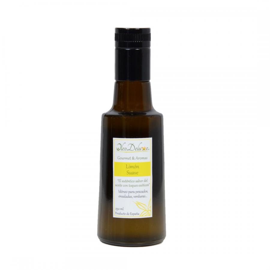 Huile d'olive au citron doux