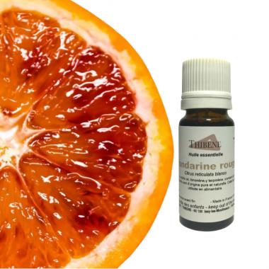 Huile essentielle de Mandarine rouge pure et naturelle